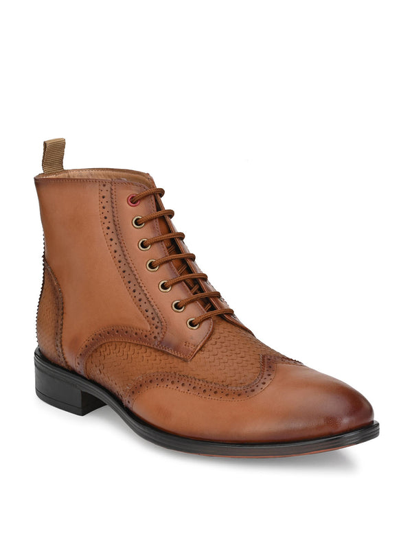 Hitz Gimo Tan Boot For Men