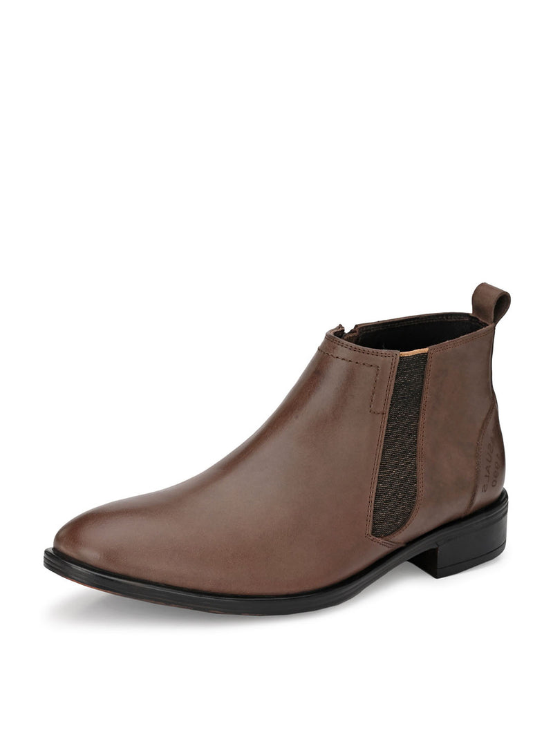 Hitz Gimo Brown Boot For Men