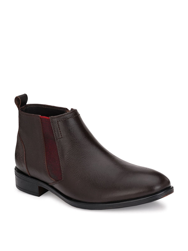Hitz Gimo D.Brown Boot For Men
