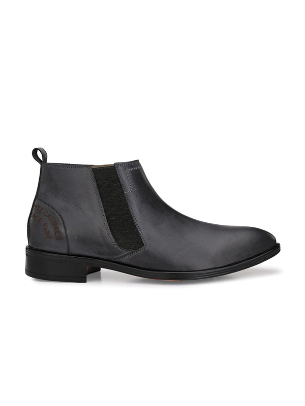Hitz Gimo Gray Boot For Men