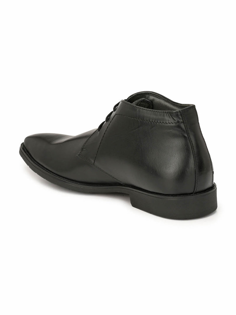 Celerio - 4602 Black Leather Shoes