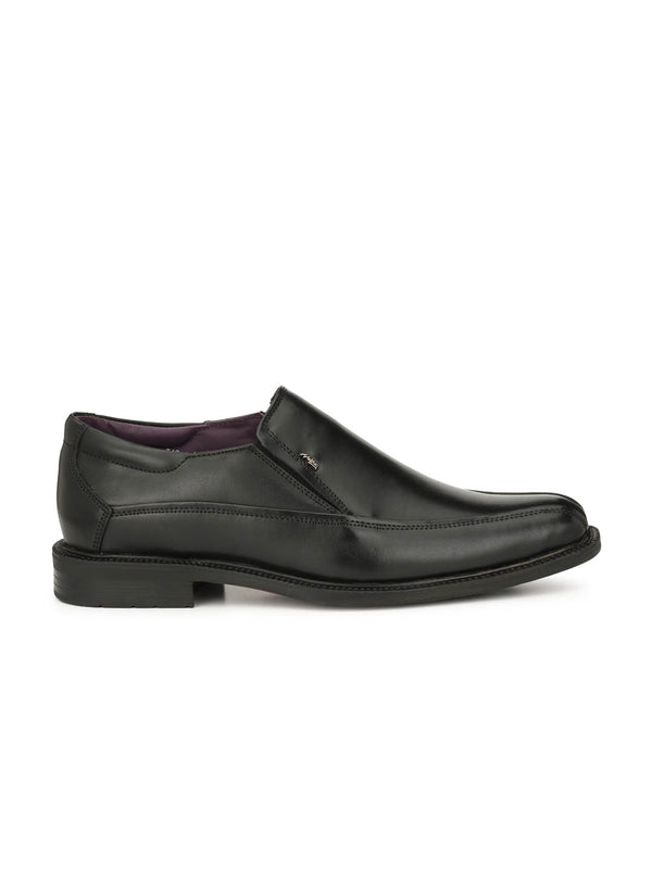 Men Formal Black Slip-on shoes