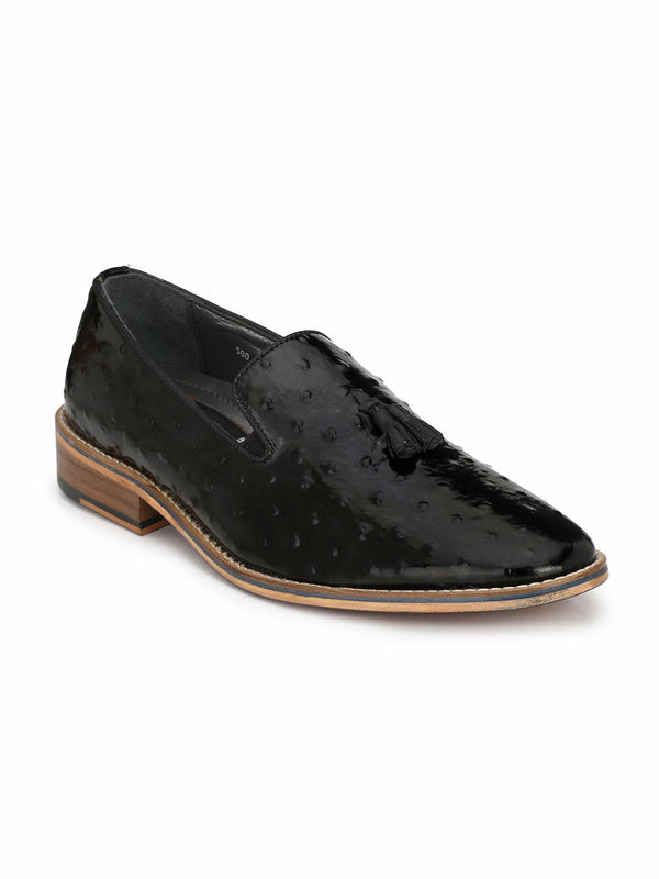Handcraft - 4802 Black Leather Shoes