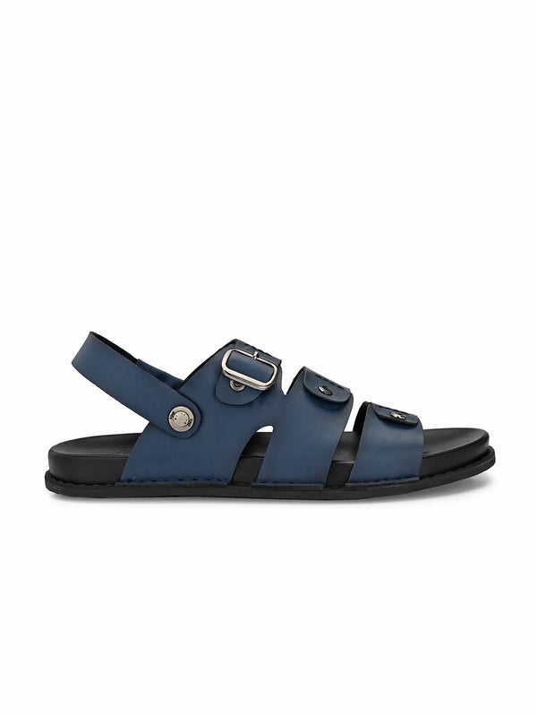 Sofital - 5001 Blue Leather Sandals