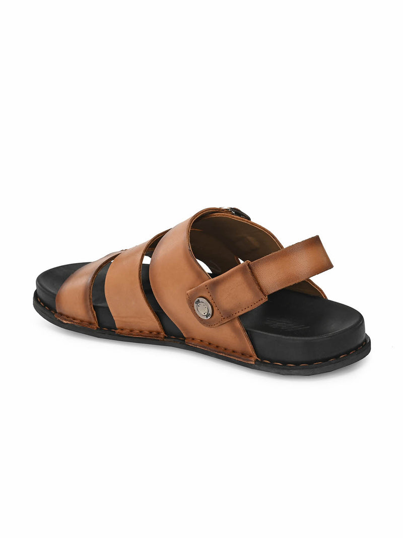 Sofital - 5001 Tan Leather Sandals