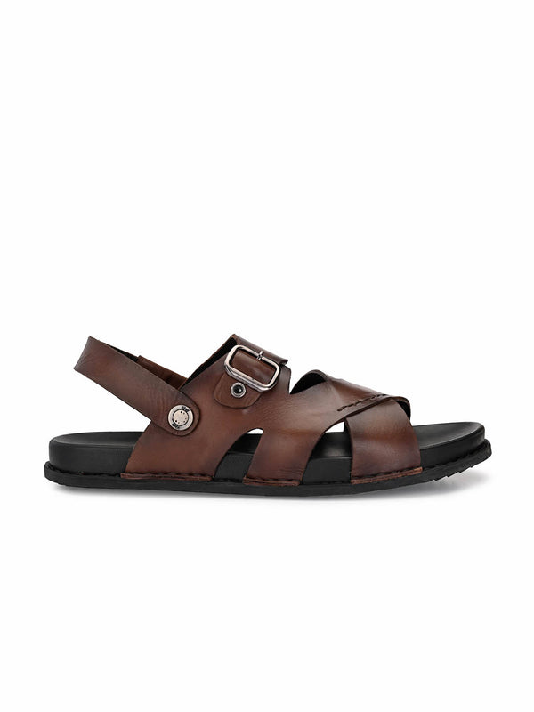 Sofital - 5002 Brown Leather Sandals