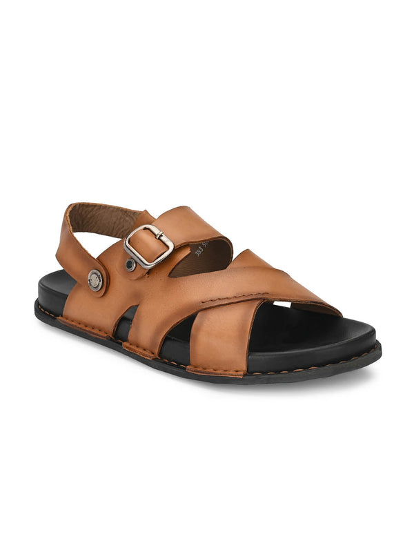 Sofital - 5002 Tan Leather Sandals