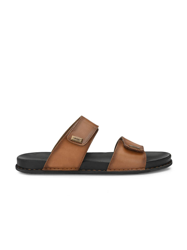 Sofital - 5004 Tan Leather Slippers