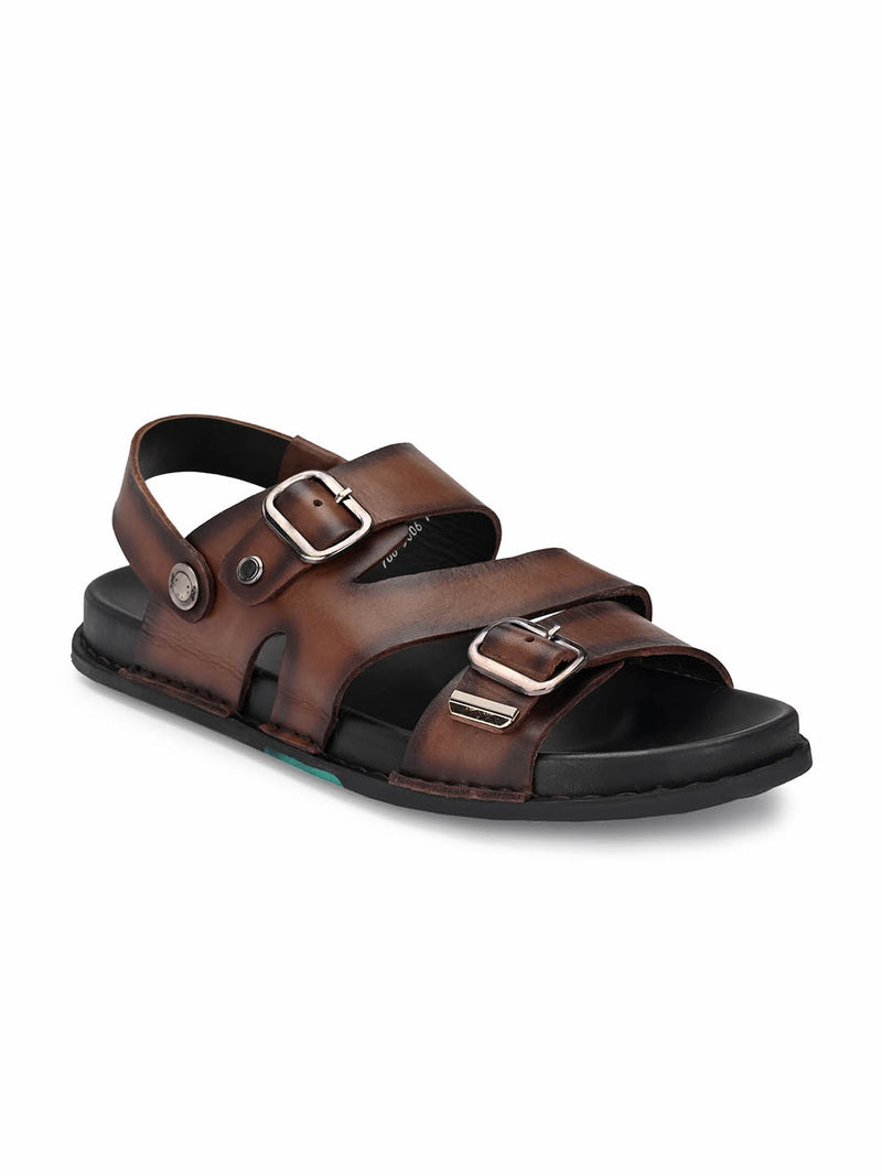 Sofital - 5006 Brown Leather Sandals