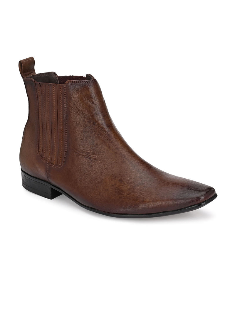 Hitz Helios Brown Boot For Men