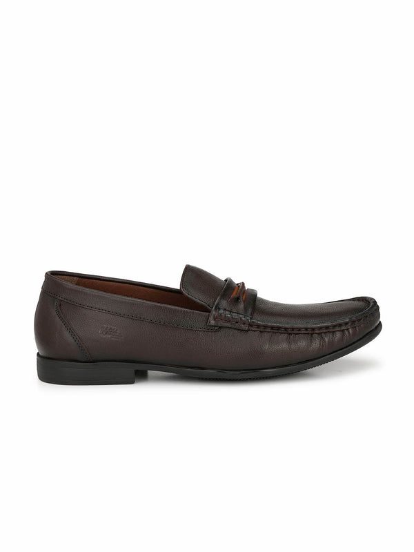 Kartis - 5306 Brown Comfort Leather Shoes