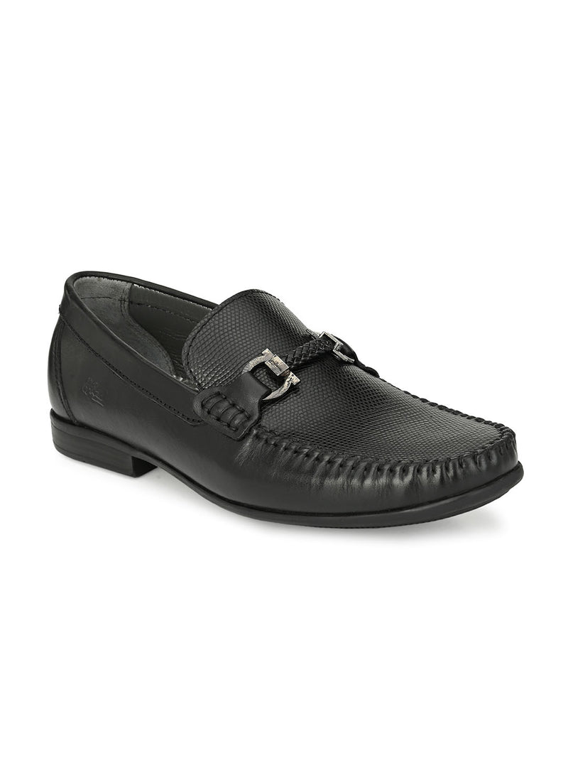 HITZ Matvey Black Shoes For Men