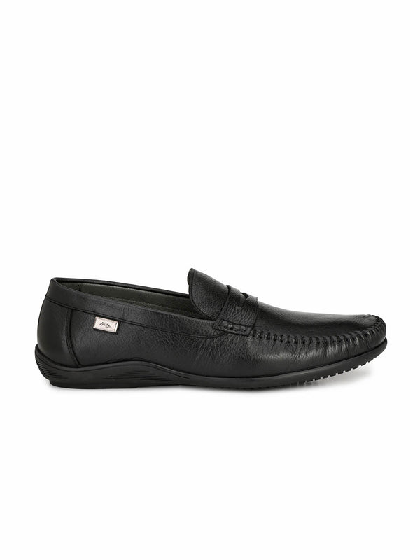 Kartis - 5309 Black Leather Shoes