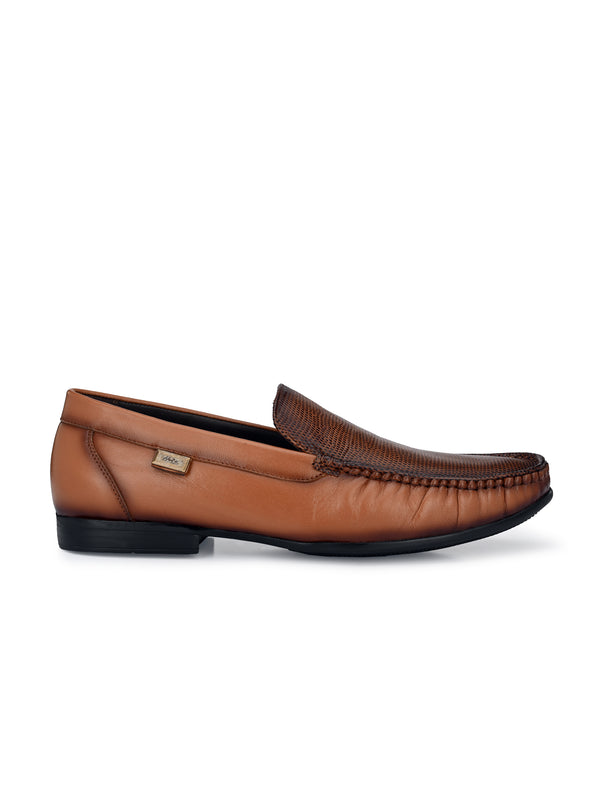 Hitz Tan Genuine Leather _Loafers for Men
