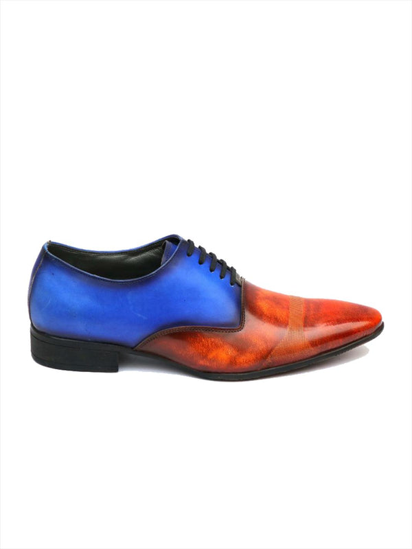 Men Tan Colourblocked Party wear Shoes