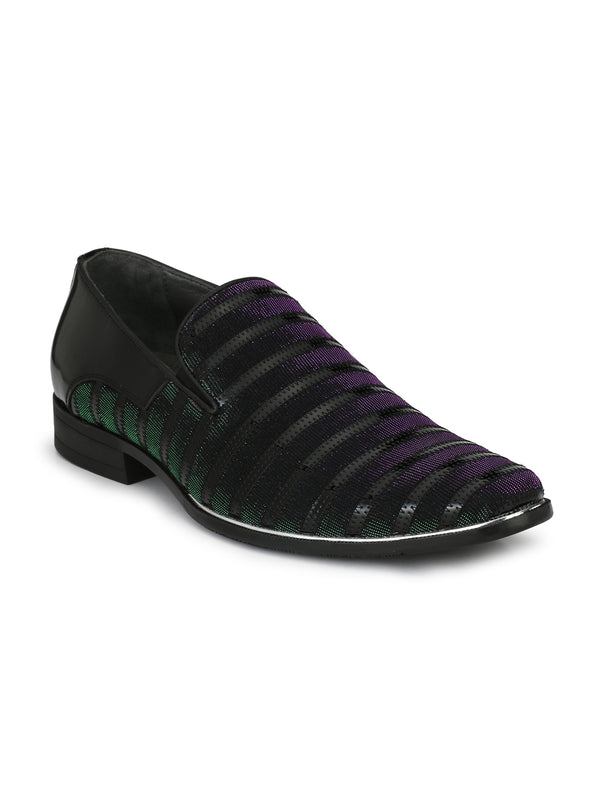 Hitz Metalic Slip-on Luxure Shoes