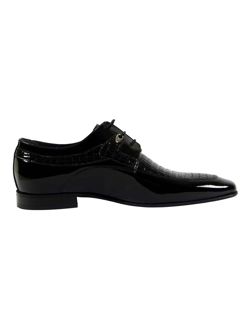 Franco Gabbani Patent Leather Black Dress Shoe By HITZ