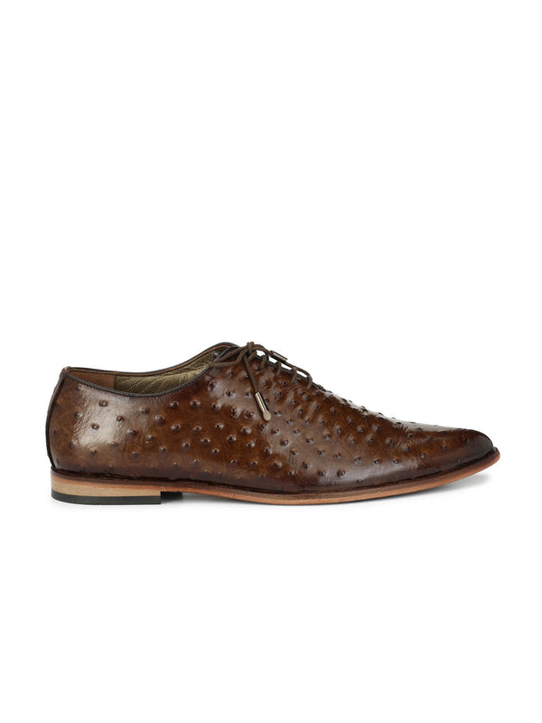 Pointy - 6003 Brown Leather Shoes