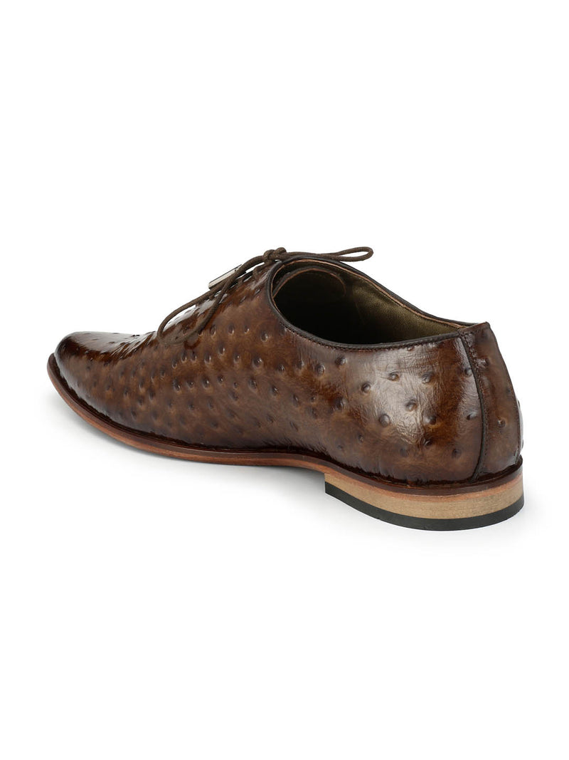 Men Brown Luxury Design Party Wear Shoes