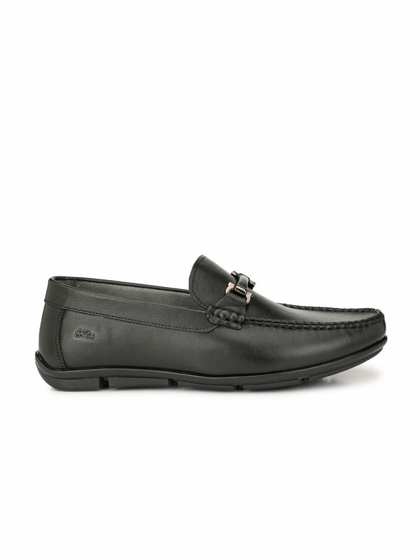 Loafer - 6112 Black Leather Shoes