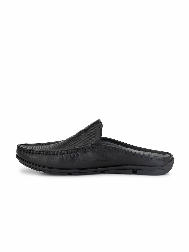 Loafer - 6116 Black Leather Shoes