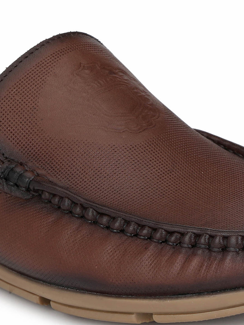 Loafer - 6116 Brown Leather Shoes