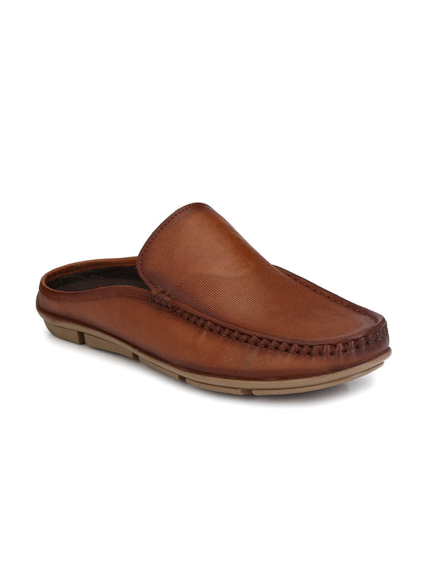Loafer - 6116 Tan Leather Shoes