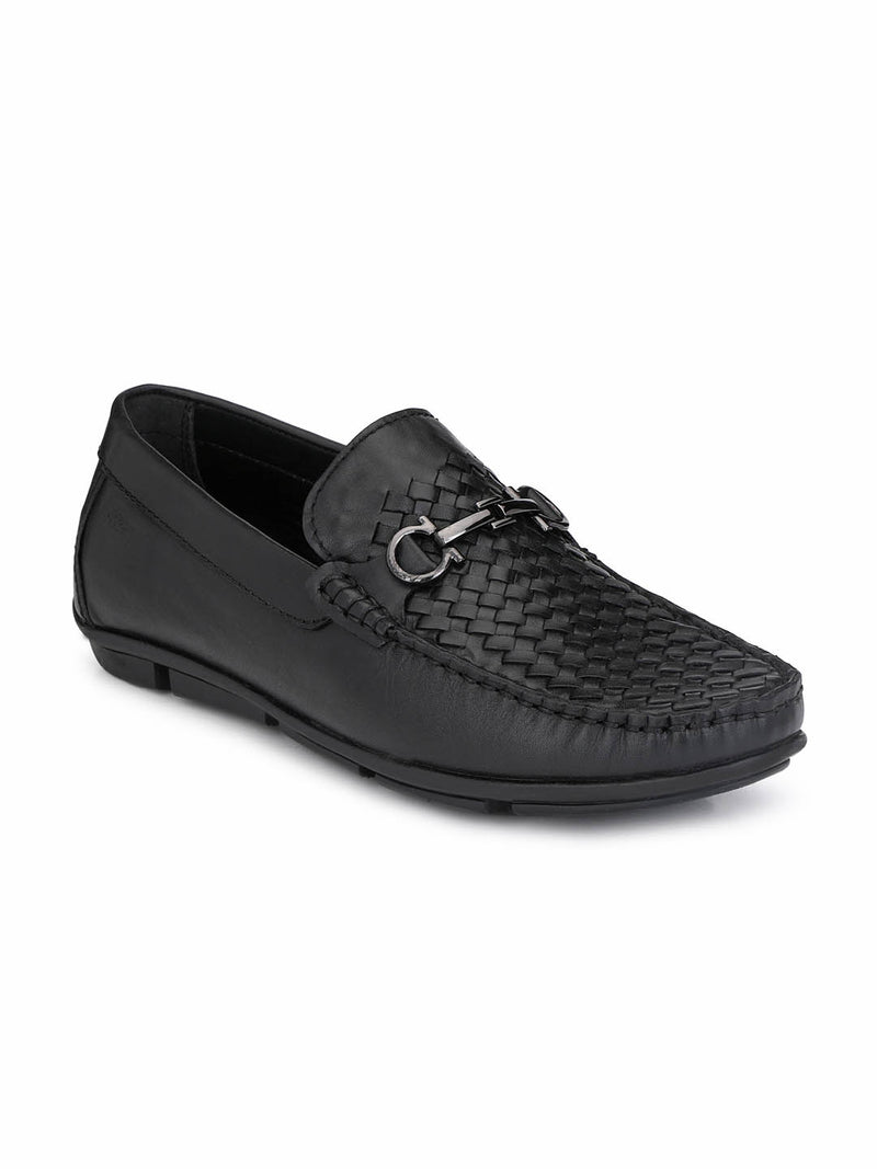 Loafer - 6123 Black Leather Shoes