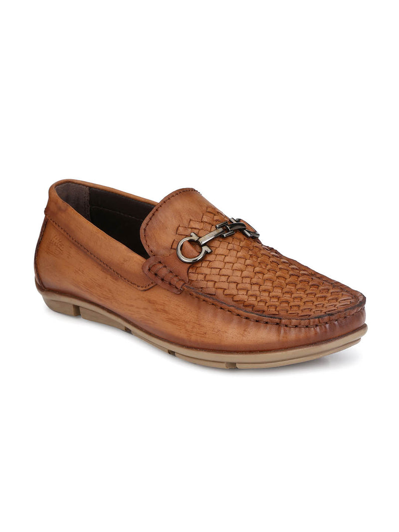 Loafer - 6123 Tan Leather Shoes