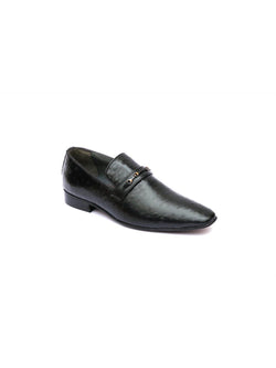 Paulo - 6418 Black Leather Shoes