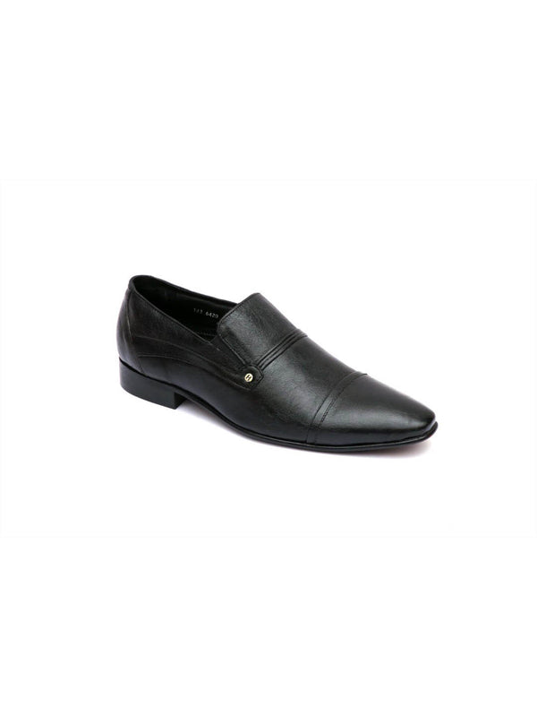 Paulo - 6420 Black Leather Shoes