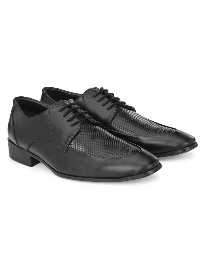 HITZ Vanya Black Shoes For Men