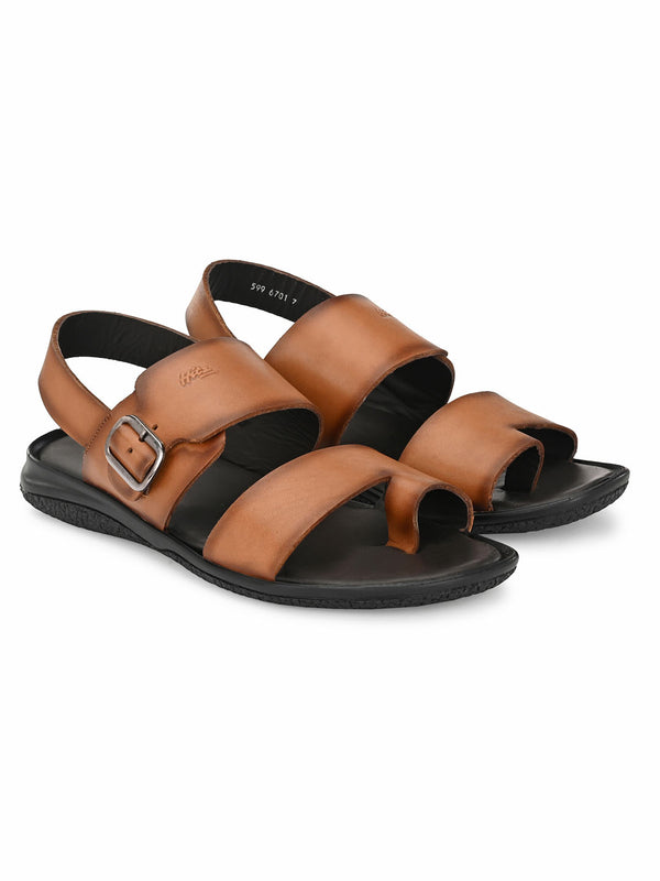 Hitz Tan SLIPPERS Sandals