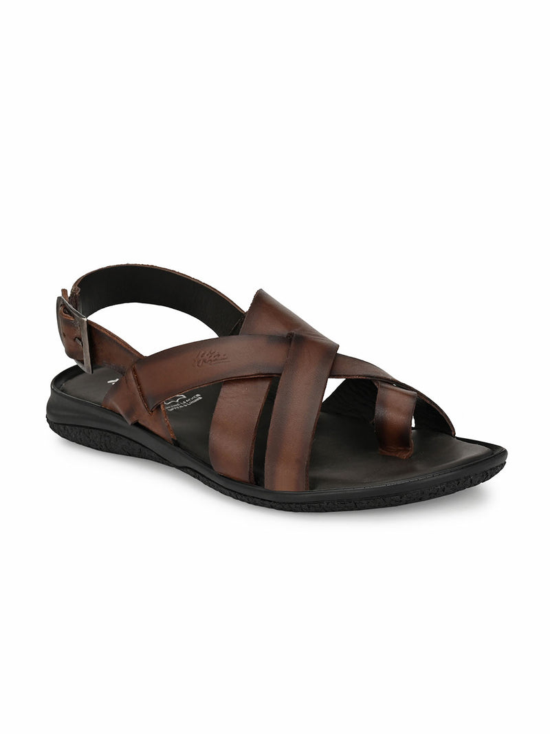 Hitz Brown SLIPPERS Sandals
