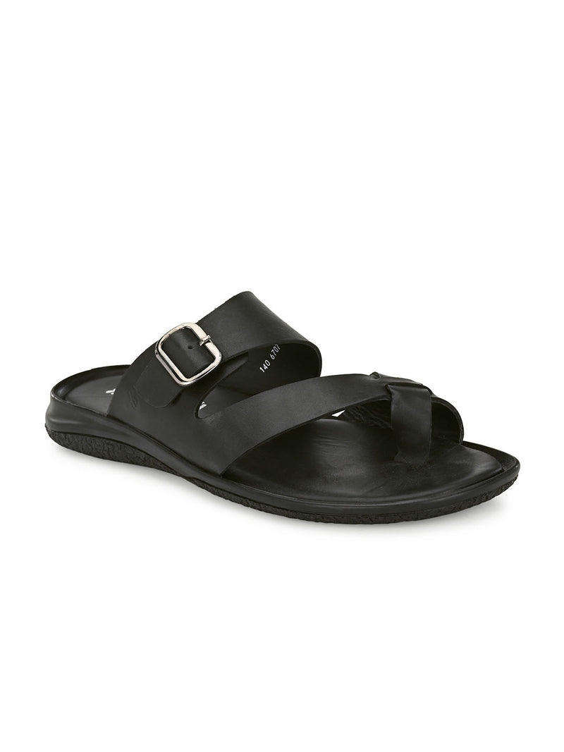 Hitz Black SLIPPERS Sandals