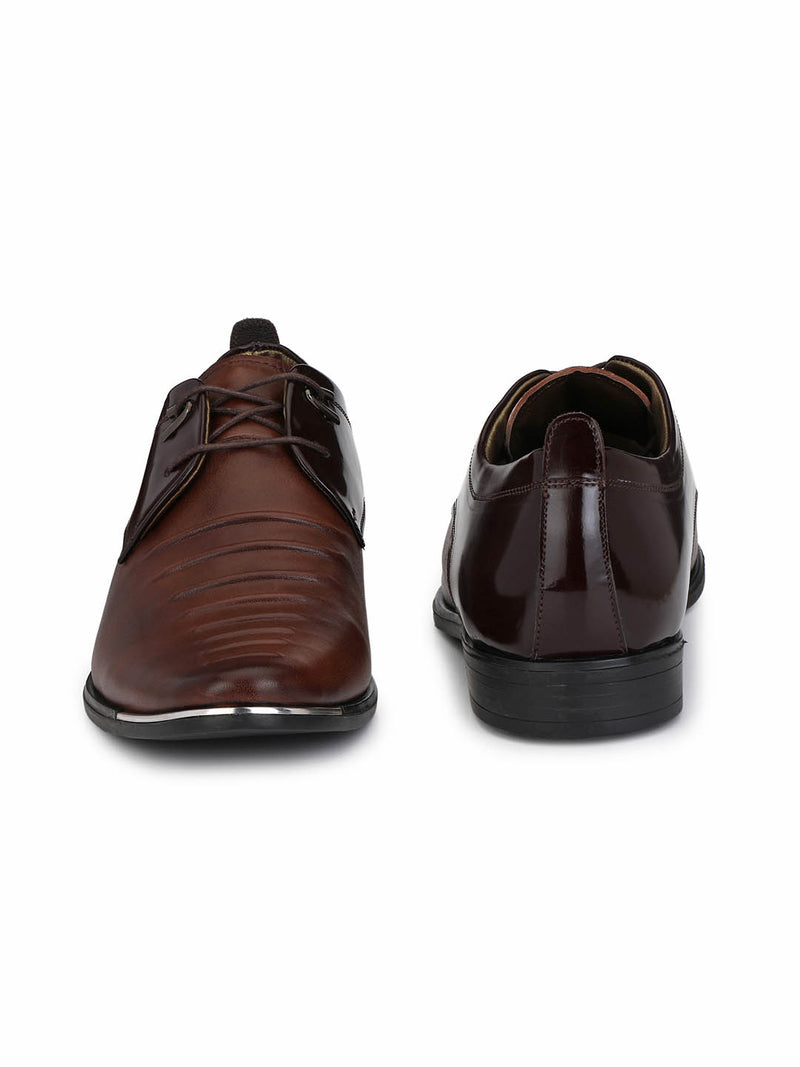 Metalico - 6958 Brown Leather Shoes