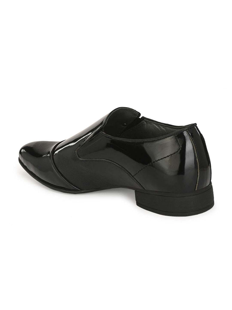Marco - 7002 Black Leather Shoes
