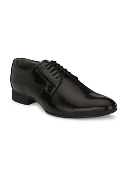 Marco - 7005 Black Leather Shoes