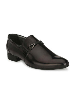 Marco - 7007 Black Leather Shoes