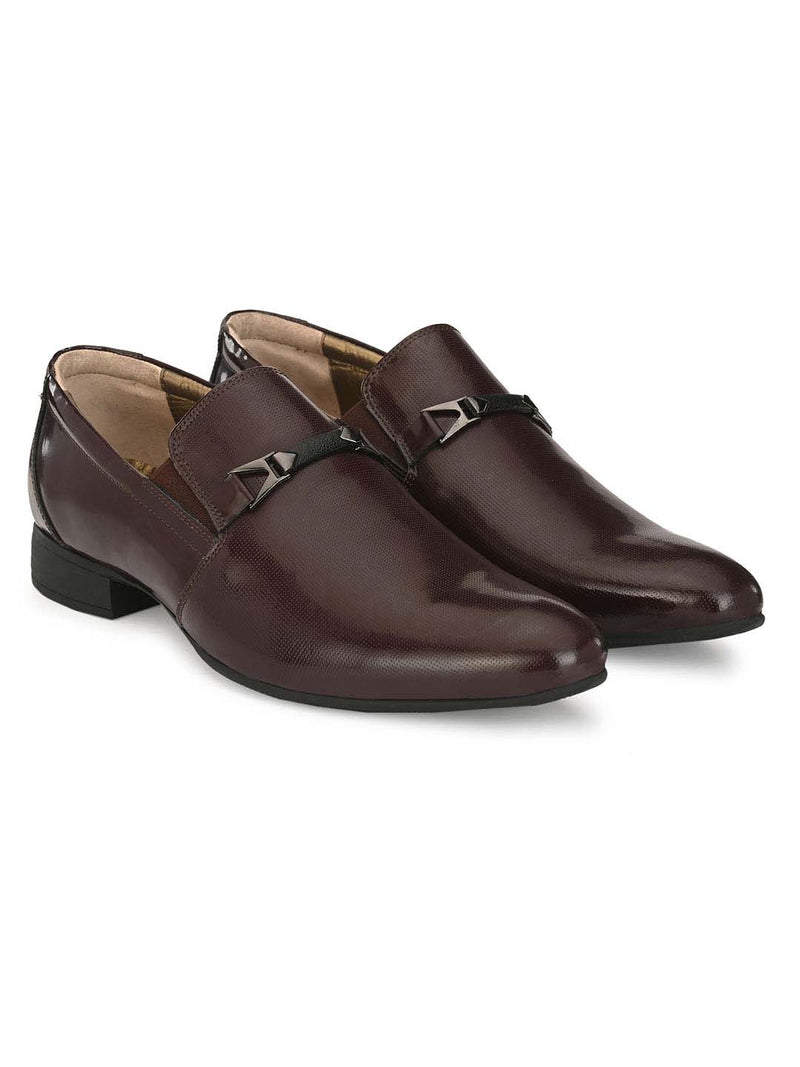 Marco - 7007 Cherry Leather Shoes