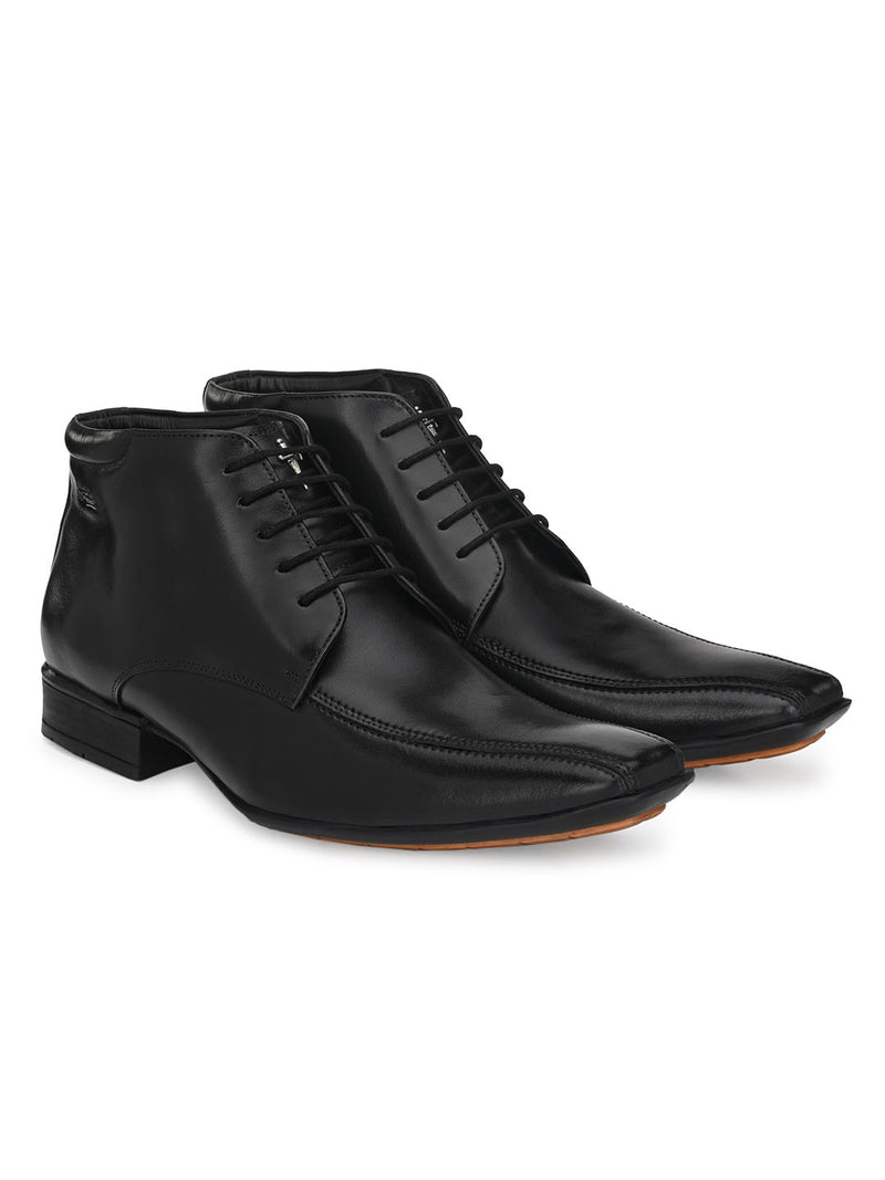 Hitz Helios Black Boot For Men