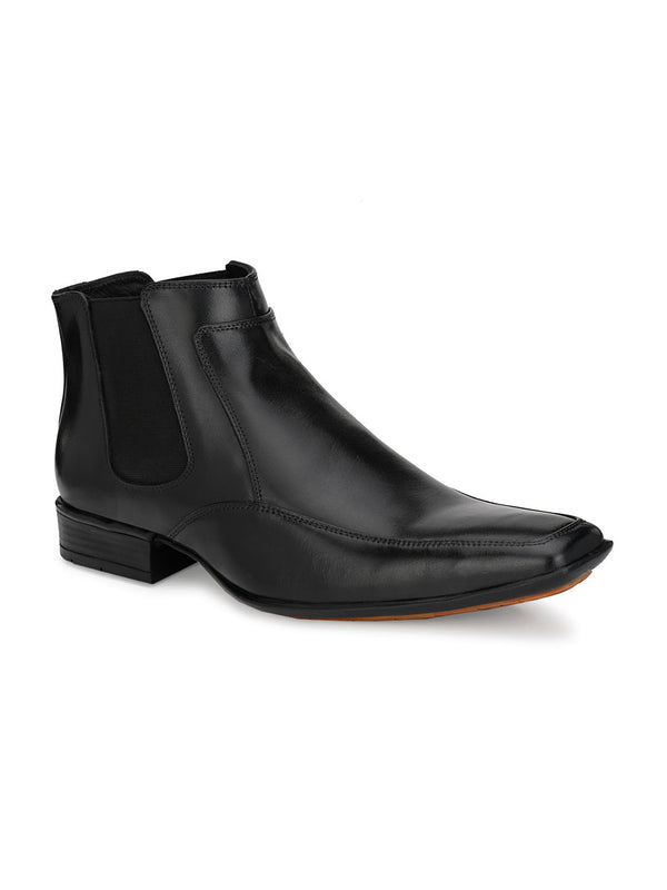 Hitz Luca Black Boot For Men