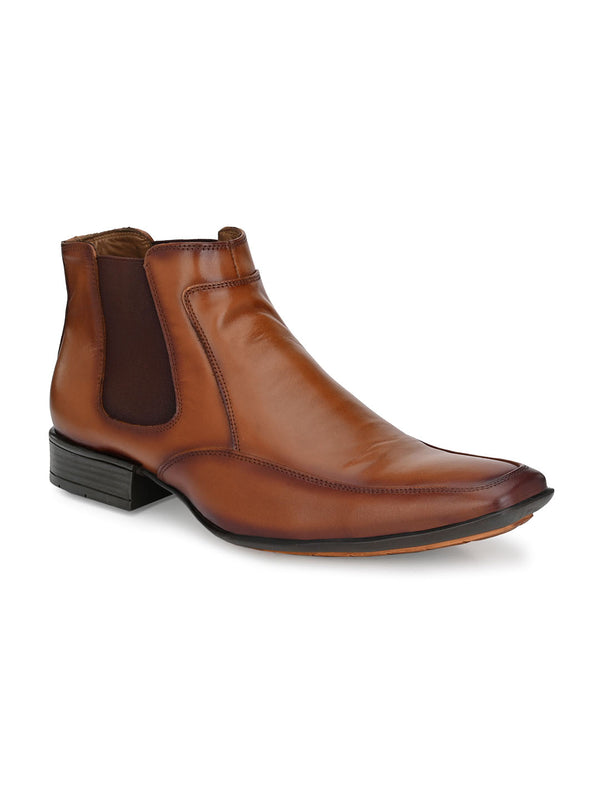 Hitz Deorano Tan Boot For Men