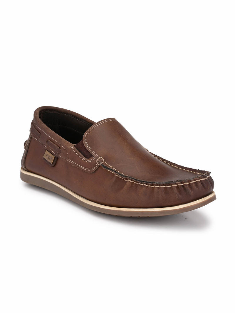 Jive - 702 Coco Leather Boat Shoes