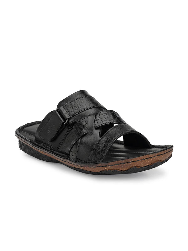 Hitz Lorenzo Black Sandals For Men