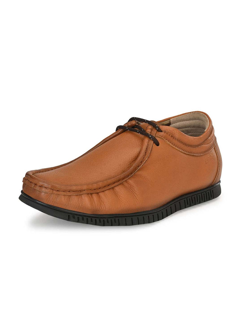 751 Tan Leather Shoes