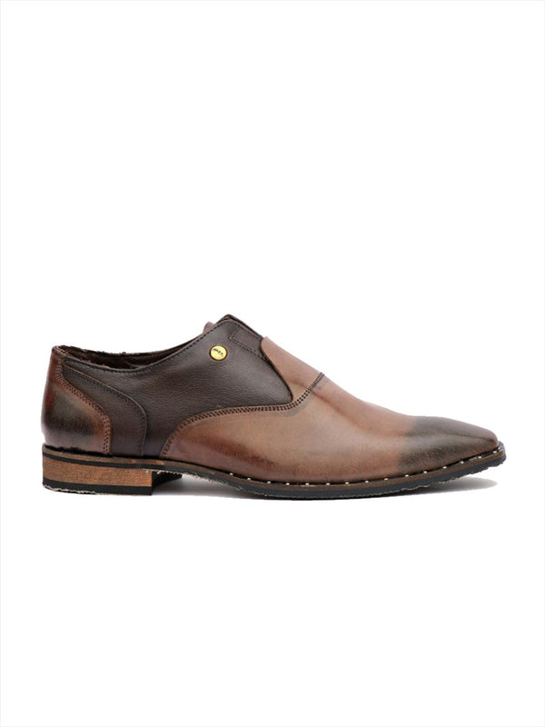Men Luxury Design Coco Leather Shoes