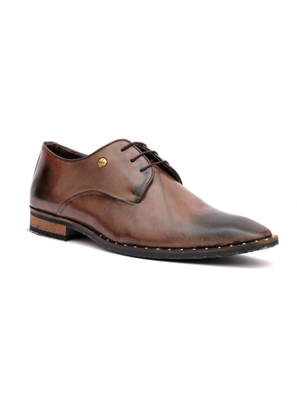 Men Classic Coco Leather Derby Shoes