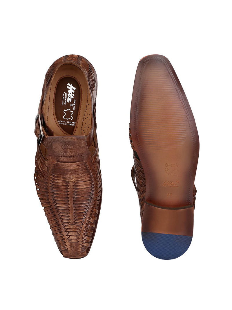 Start - 7722 Tan Leather Shoes