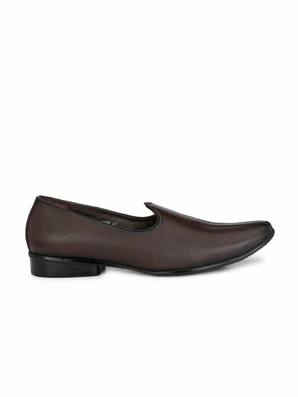 Hitz Men Brown Ethnic Footwear